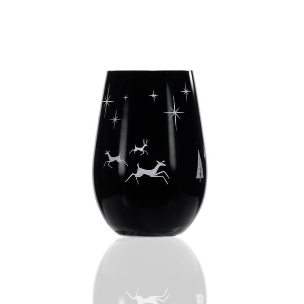 Rolf Glass Wonderland 16.5oz Stemless Wine Tumberl