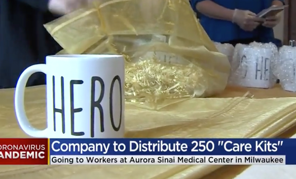 CBS58 Milwaukee-based business pauses company launch to donate care kits to front-line workers