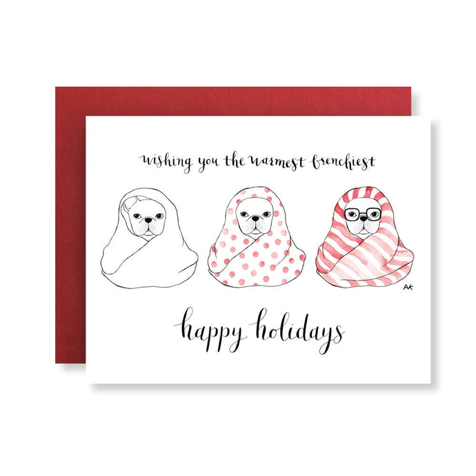 Happy Holidays Box of 8 Cards