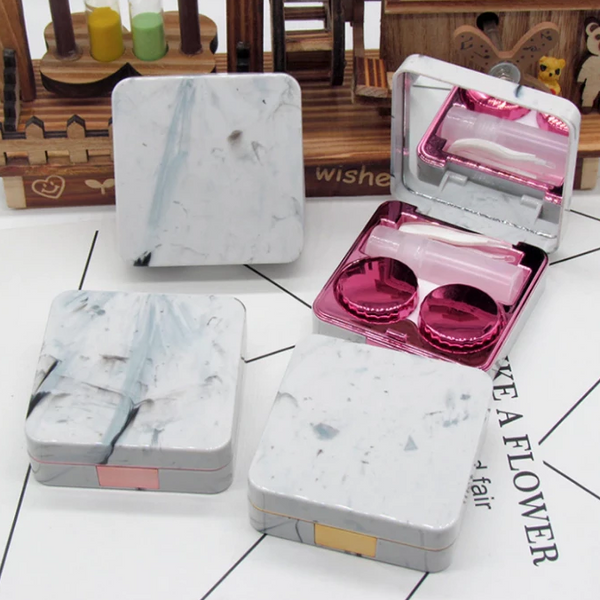 Marble Lens Container