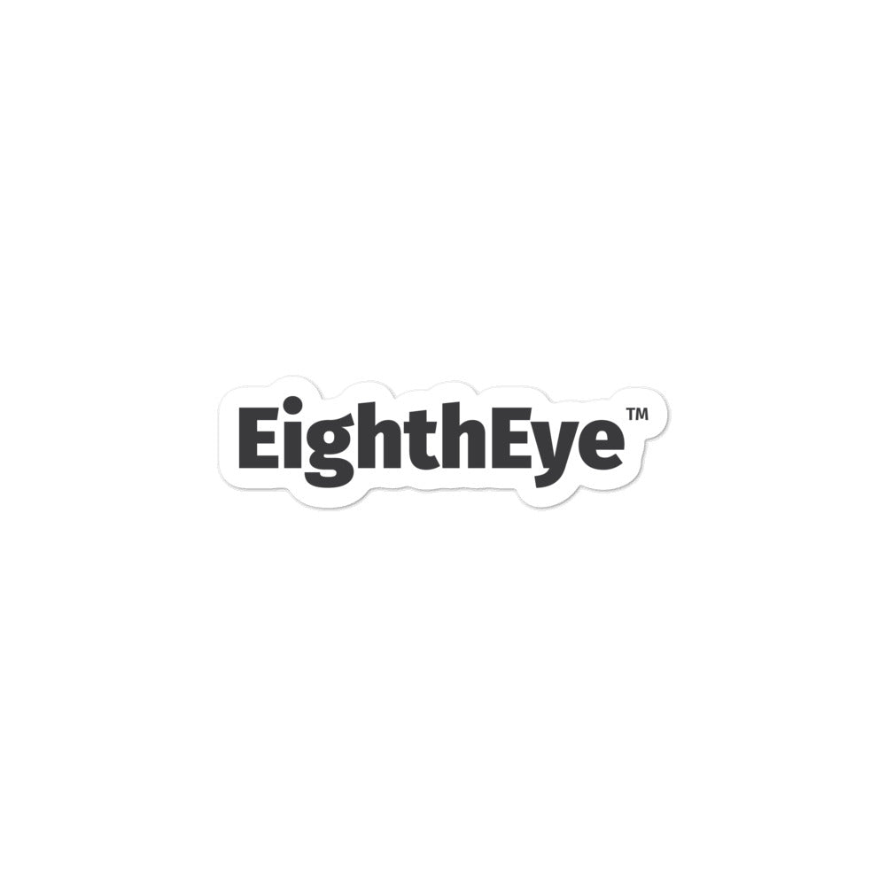 EighthEye Bubble-free stickers