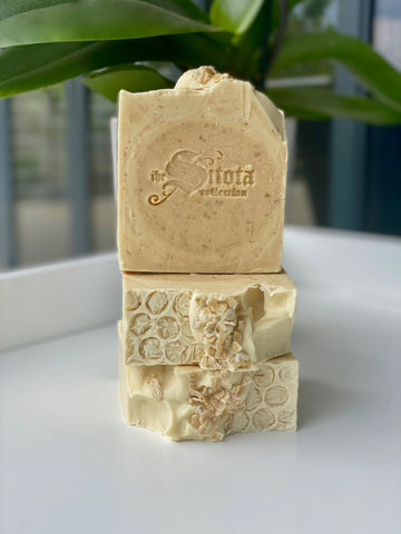 SOAP BAR - GOAT MILK, HONEY & OATS