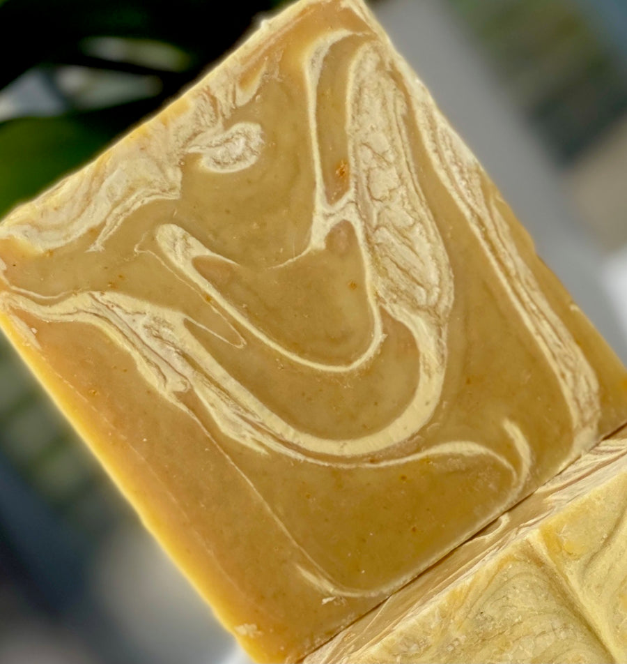 SOAP BAR - TURMERIC, CARROT AND HONEY