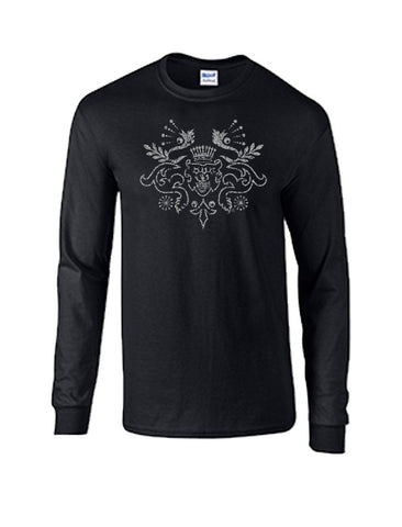 Long Sleeve Crest T