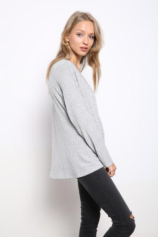You've Got It All Knit Top