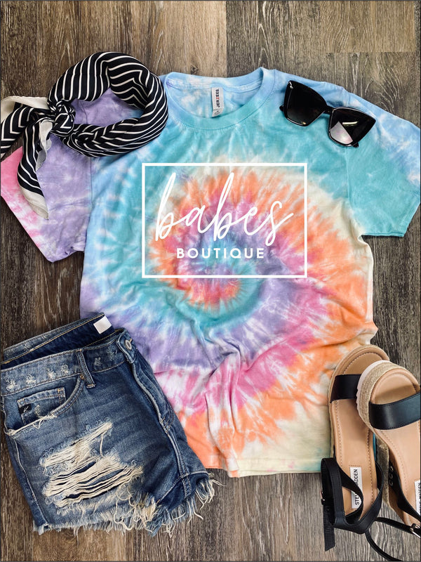 Babes Boutique Tie Dye Tee