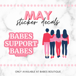 Sticker Decals Of The Month, May