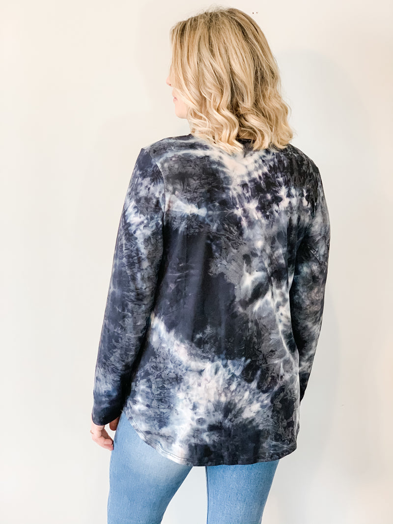 Blake Marble Tie Dye Top - Small, Medium, Large