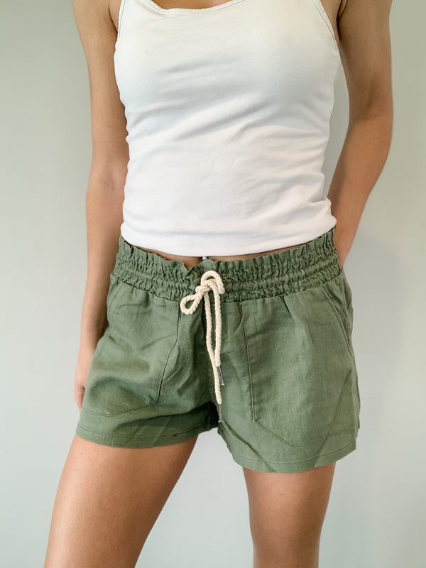 All Summer Long Linen Shorts 2.0 (14 Colors!)