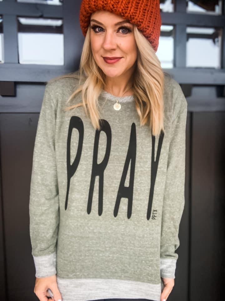 PRAY Long Sleeve Tee