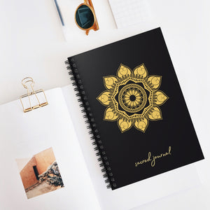 Sacred Journal - Spiral Notebook - Ruled Line