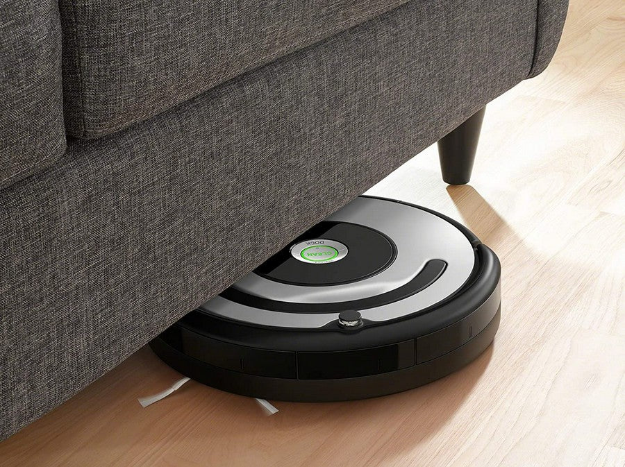 iRobot Roomba 615 smart mapping 吸塵器 Wi-Fi 連接 吸塵器 Robotic Vacuum Cleaner Vacuum Cleaner 自動打掃機 自動吸塵機 掃地機械人 智能吸塵 robot vacuum cleaner robot vacuum and mop cleaner with self-empty function and voice control Alexi Google Assistant control smart home 智能家居 拖地機械人