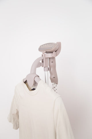Shirt with Portable Steamer
