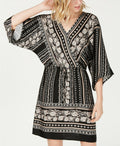 Style & Co Printed V-Neck Dress - Style & Co - DSY Retailers