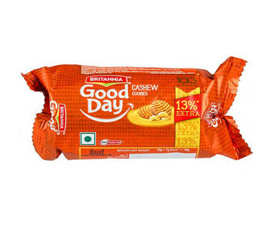 BRITANNIA GOOD DAY CASHEW ALMOND BISCUITS MRP RS5