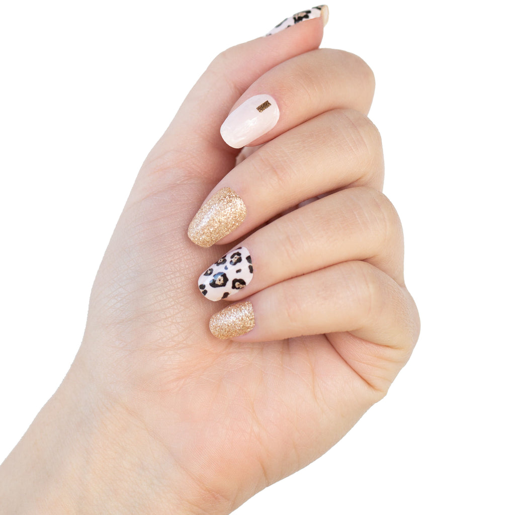 Golden Leopard - NailsMailed
