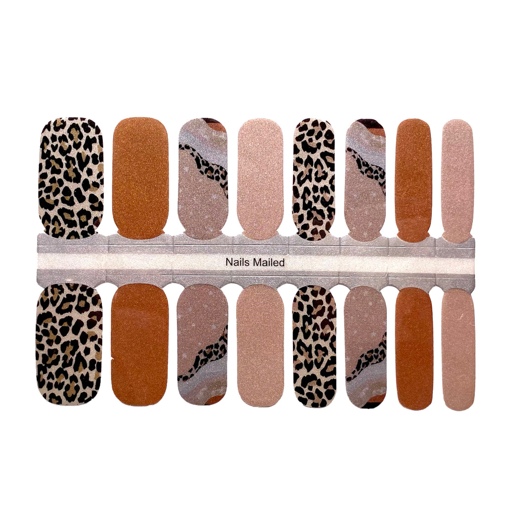 Chic Leopard - NailsMailed