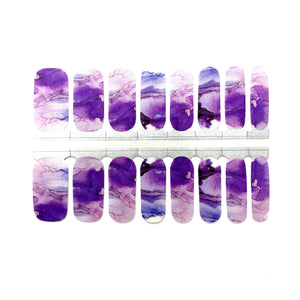 Purple Watercolor - NailsMailed