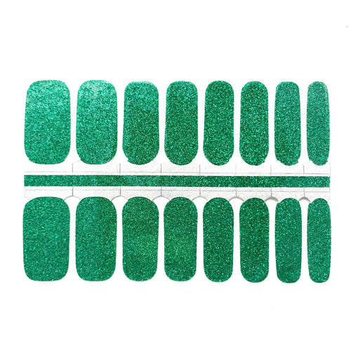Sparkling Emerald - NailsMailed