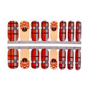 Plaid Turkey - NailsMailed