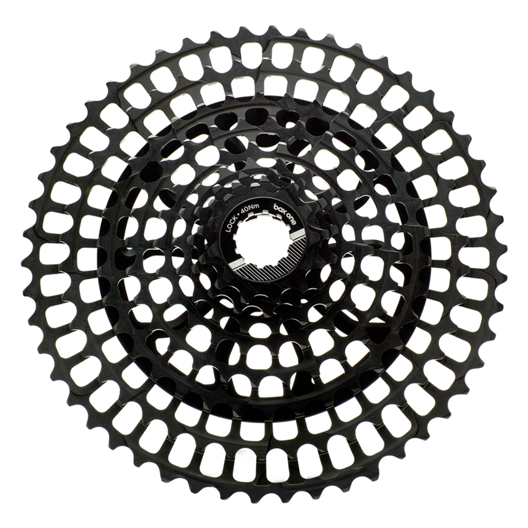 Box One Prime 9 11-50T Cassette Black - boxcomponents