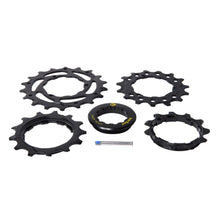 Load image into Gallery viewer, Box Four Lockring & Cogs 11T, 13T, 15T, 18T black