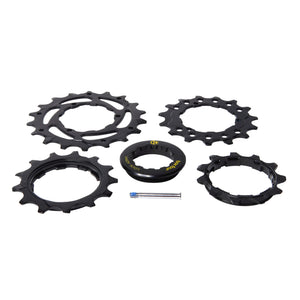 Box Four Lockring & Cogs 11T, 13T, 15T, 18T black