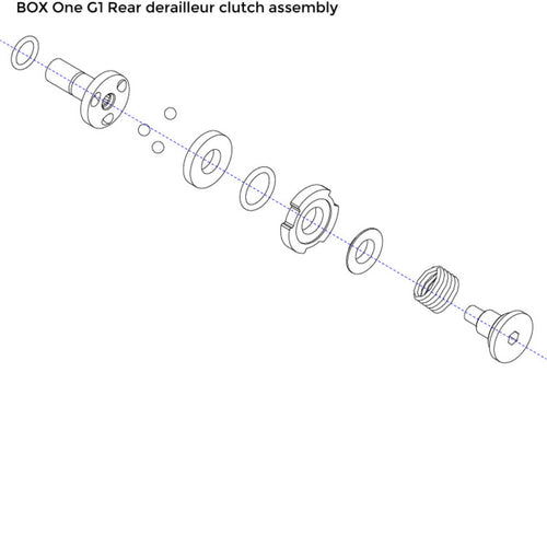 Box One Gen 1 Cam Clutch Assembly - boxcomponents
