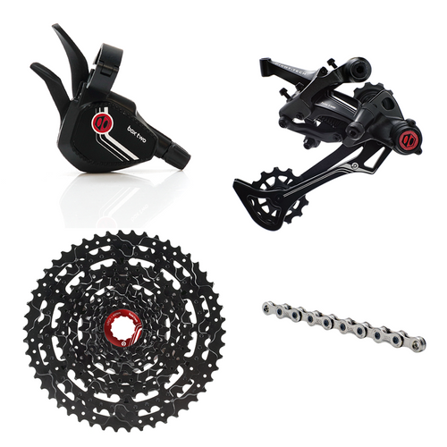 Box Two Prime 9 X-Wide Multi Shift Groupset - boxcomponents