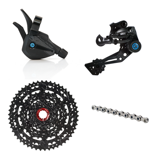 Box Two/Three P9 X-Wide Multi Shift Groupset - boxcomponents
