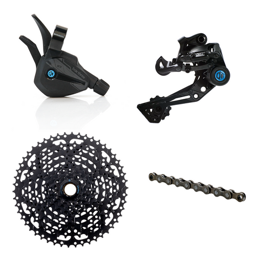 Box Three Prime 9 X-Wide Multi Shift Groupset - boxcomponents