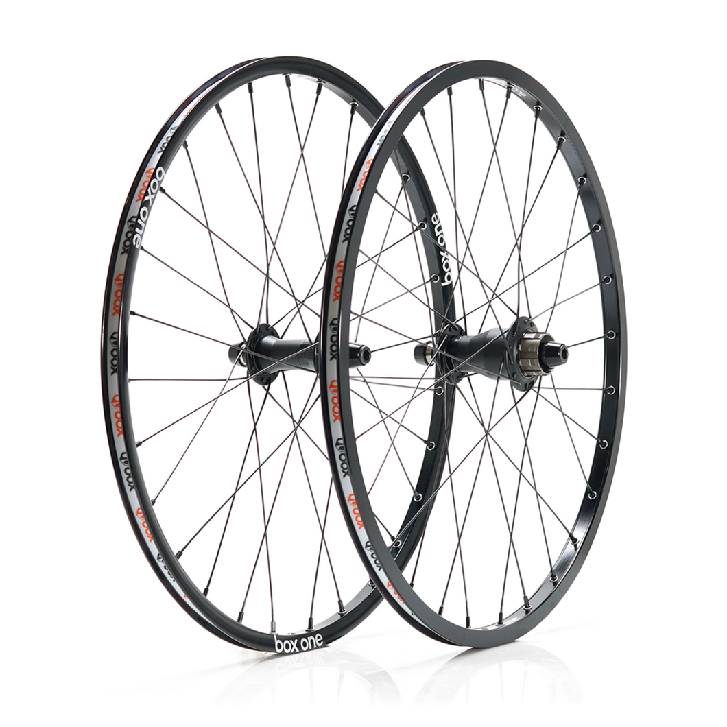 Box One Stealth Expert 451mm 28h Alloy Wheelset - boxcomponents