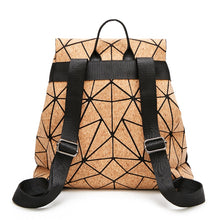 Cargar imagen en el visor de la galería, Maelove 2019 Fashion Geometric Backpack Student's shool shoulder bag women backpack geometry  large capacity Free Shipping - latiendademoda