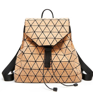 Maelove 2019 Fashion Geometric Backpack Student's shool shoulder bag women backpack geometry  large capacity Free Shipping - latiendademoda