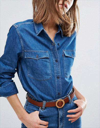 Levi's Orange Tab 70s Western Denim Shirt