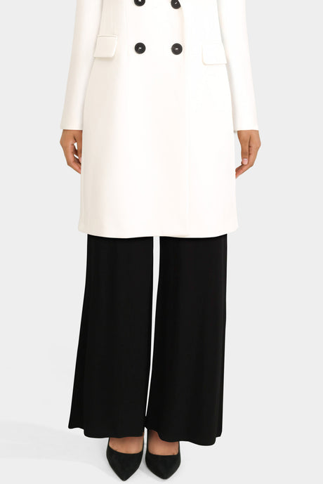 Basic Wide Leg Trousers