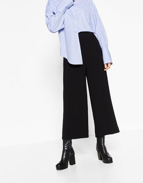 High-Rise Trousers