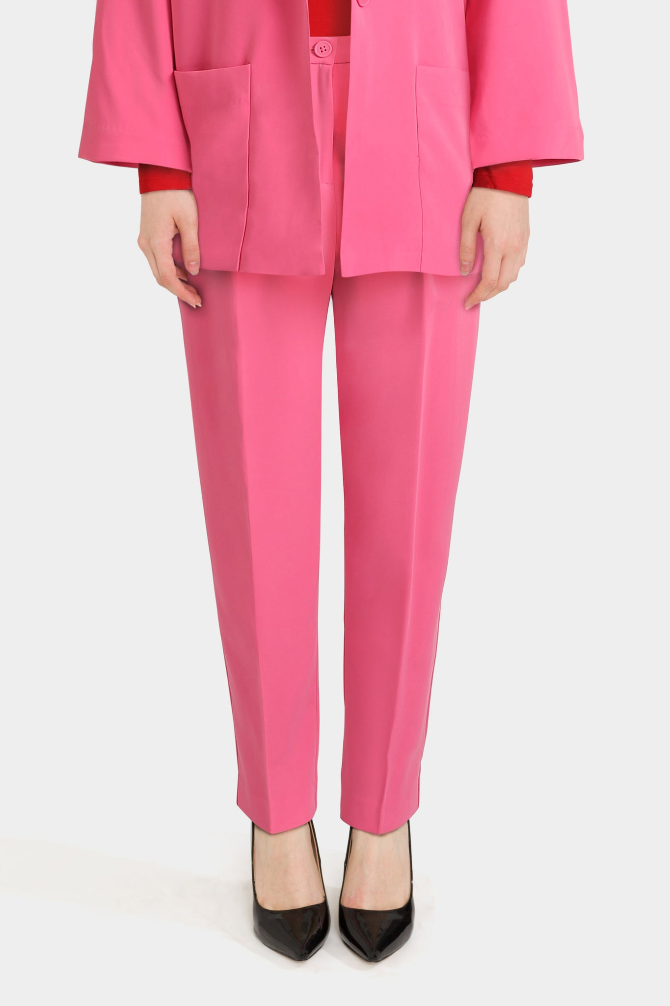 Monki Slim Peg Trousers