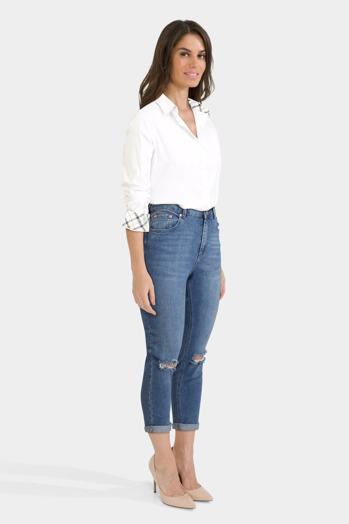 Collared Shirt With Jeans