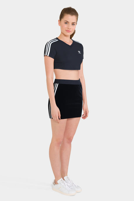 3 STRIPES SKIRT & CROPPED TEE