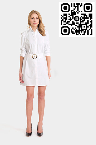 Asos Mini Belted Shirt Dress
