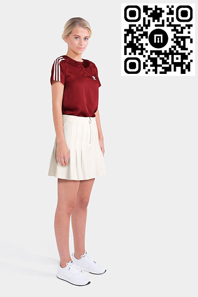 Adidas Polo Shirt & Asos Tennis Mini Skirt