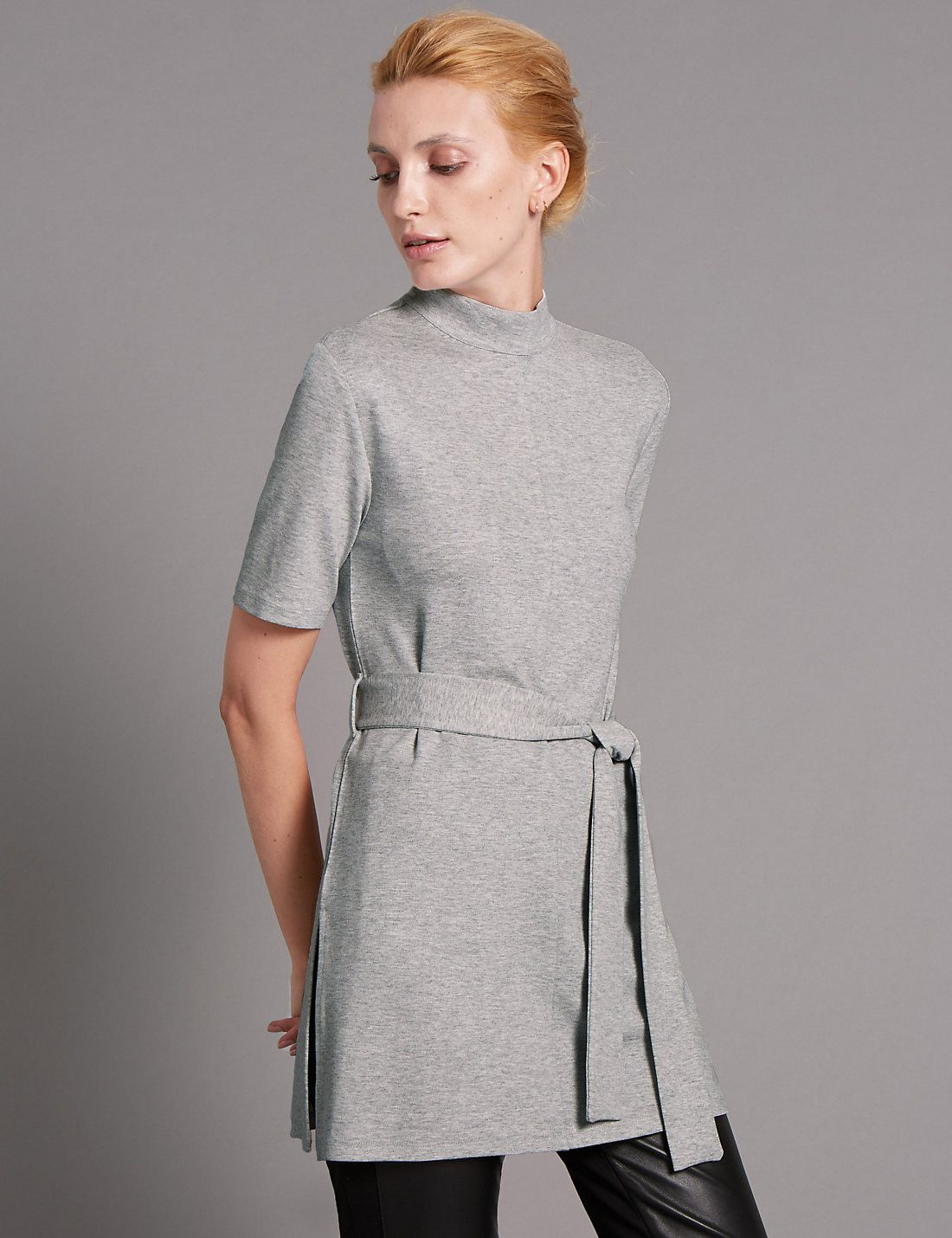Tailored Fit Compact Tunic Dress