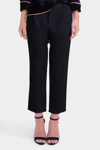 Black Baggy Trousers