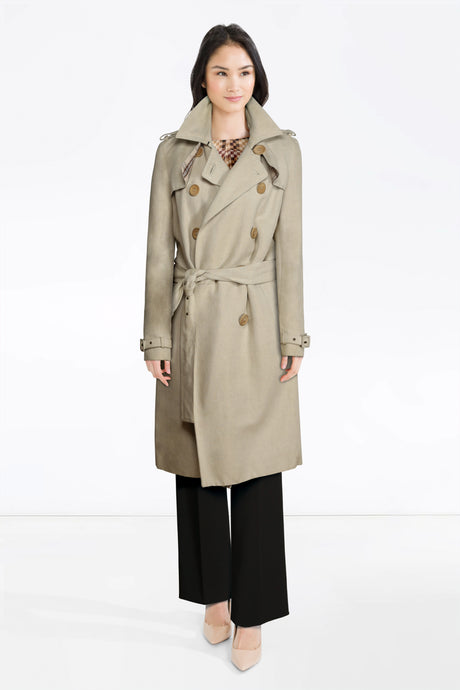 Daks top, D&G trousers, Trench Coat