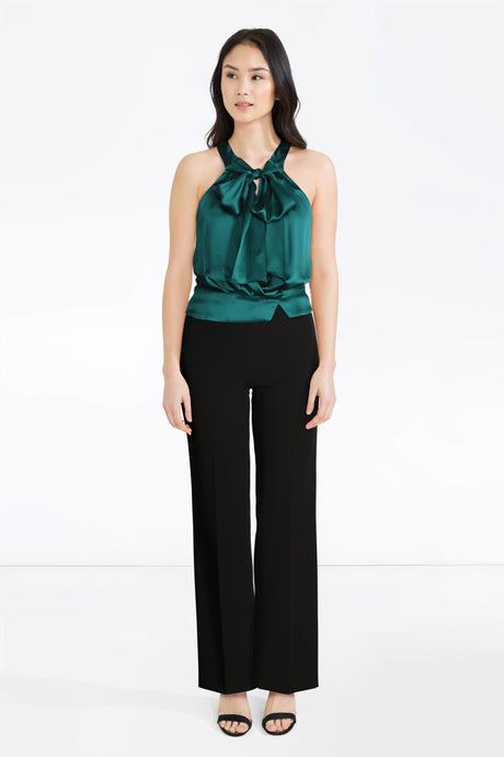 Chloe Emerald Top, D&G Trousers