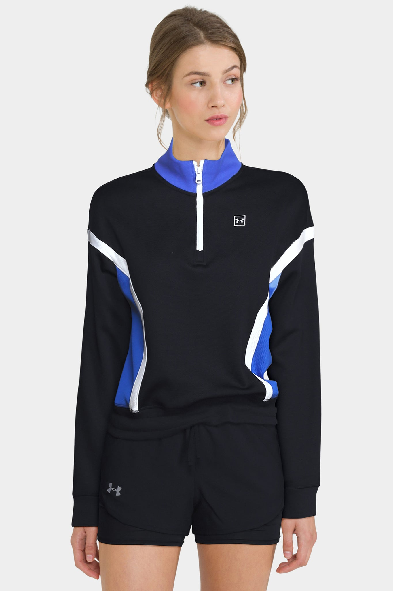 Women's UA Always On Double Knit ¼ Zip