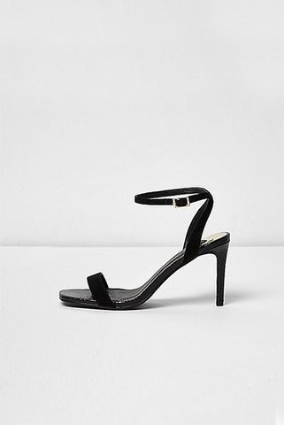 Barely There Heeled Sandals