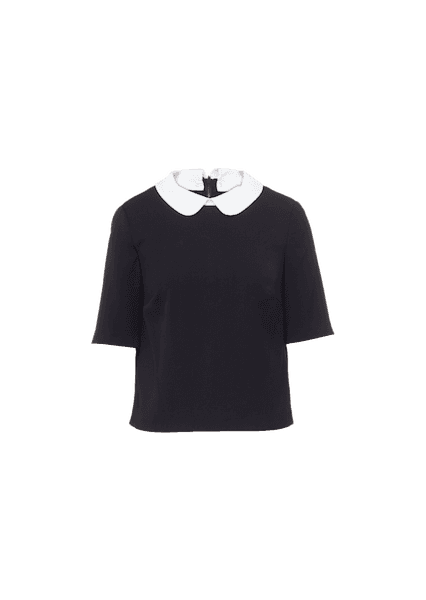 M&S COLLAR SHELL TOP