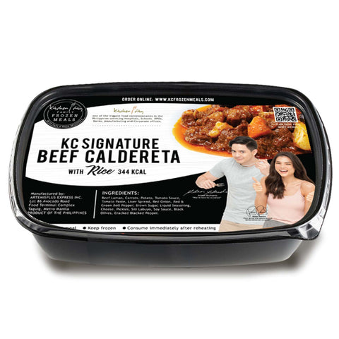 Signature Beef Caldereta | Frozen Rice Meal